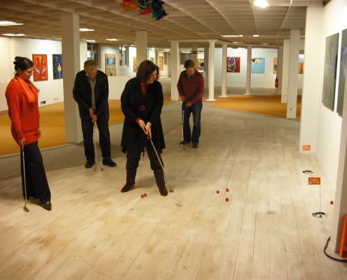 Galerien und Produktionsstätten