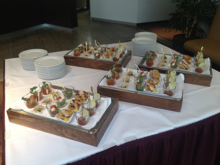 Ansprechendes Catering